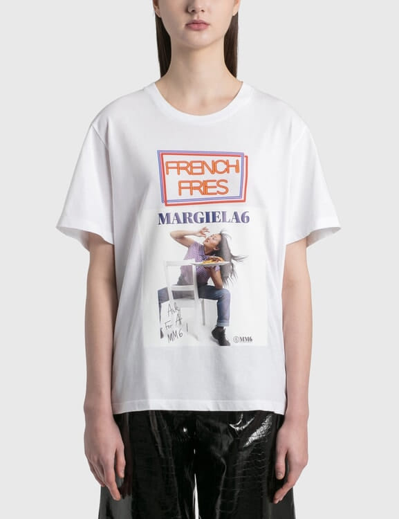 MM6 Maison Margiela French Fries Graphic T-shirt