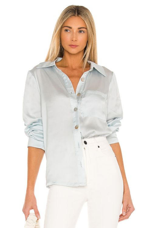Lovers + Friends Desi Button Up Top