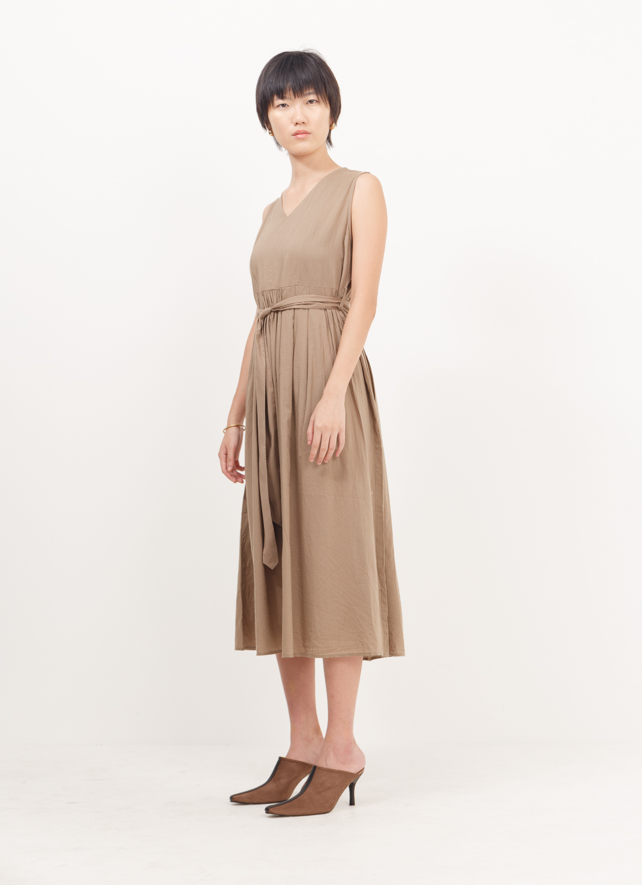 American Holic Felice Dress - Mocha