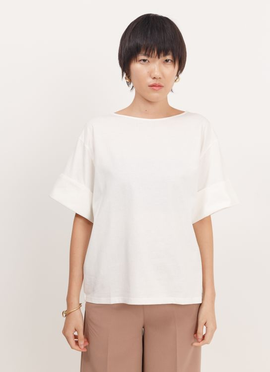 Earth, Music & Ecology Allana Top - Ivory