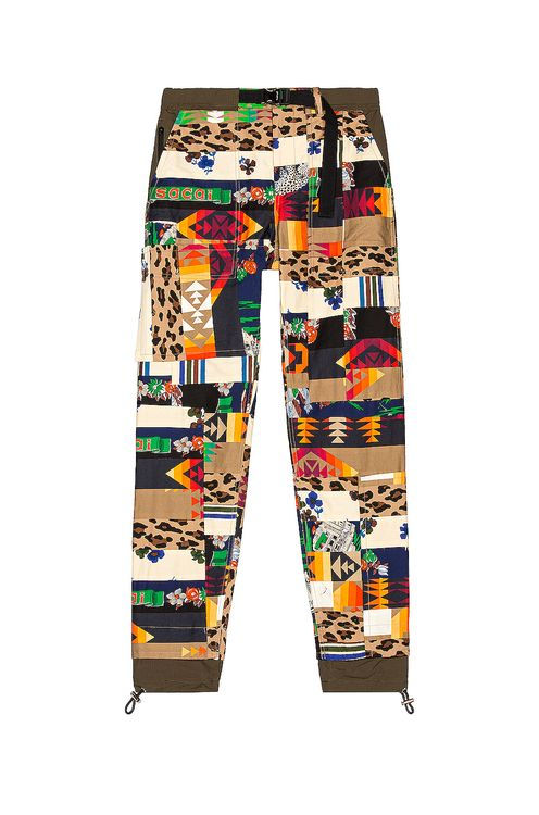 Sacai Hank Willis Thomas Archive Mix Print Pants