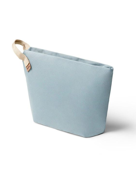 Bellroy Bellroy Standing Pouch Plus Smoke Blue (Plant-Based / Leather-Free)