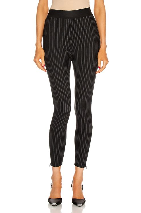 T by Alexander Wang Logo Embroidery Legging