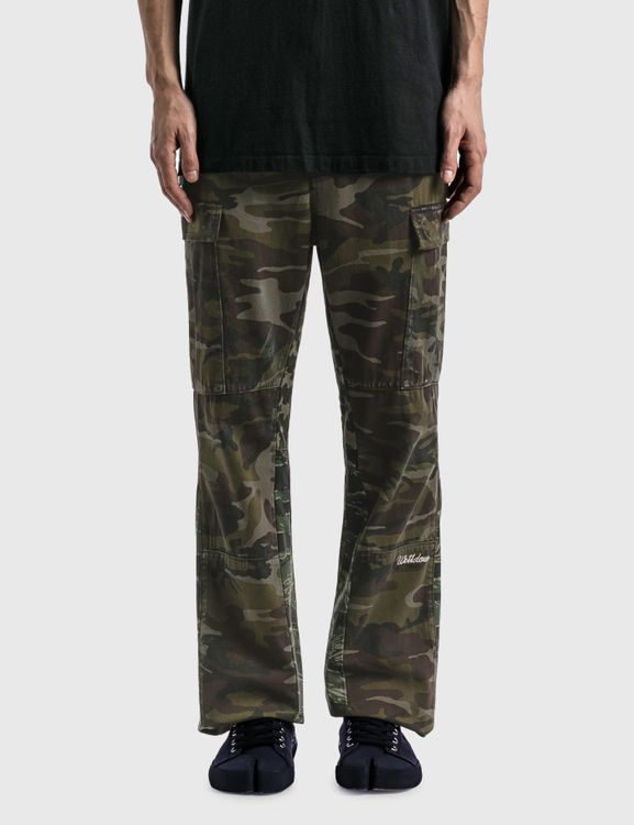 We11done Camouflage Cargo Pants
