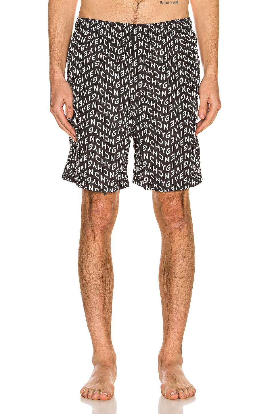 Givenchy Refracted All Over Swim Trunk