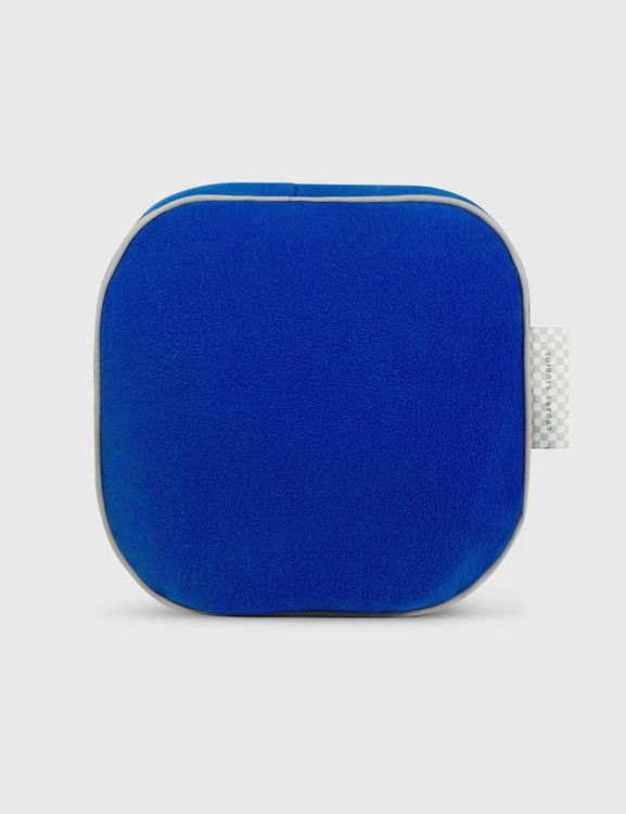 Crosby Studios Blue Cubic Pillow