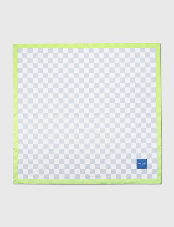 Crosby Studios Checkers Fleece Blanket