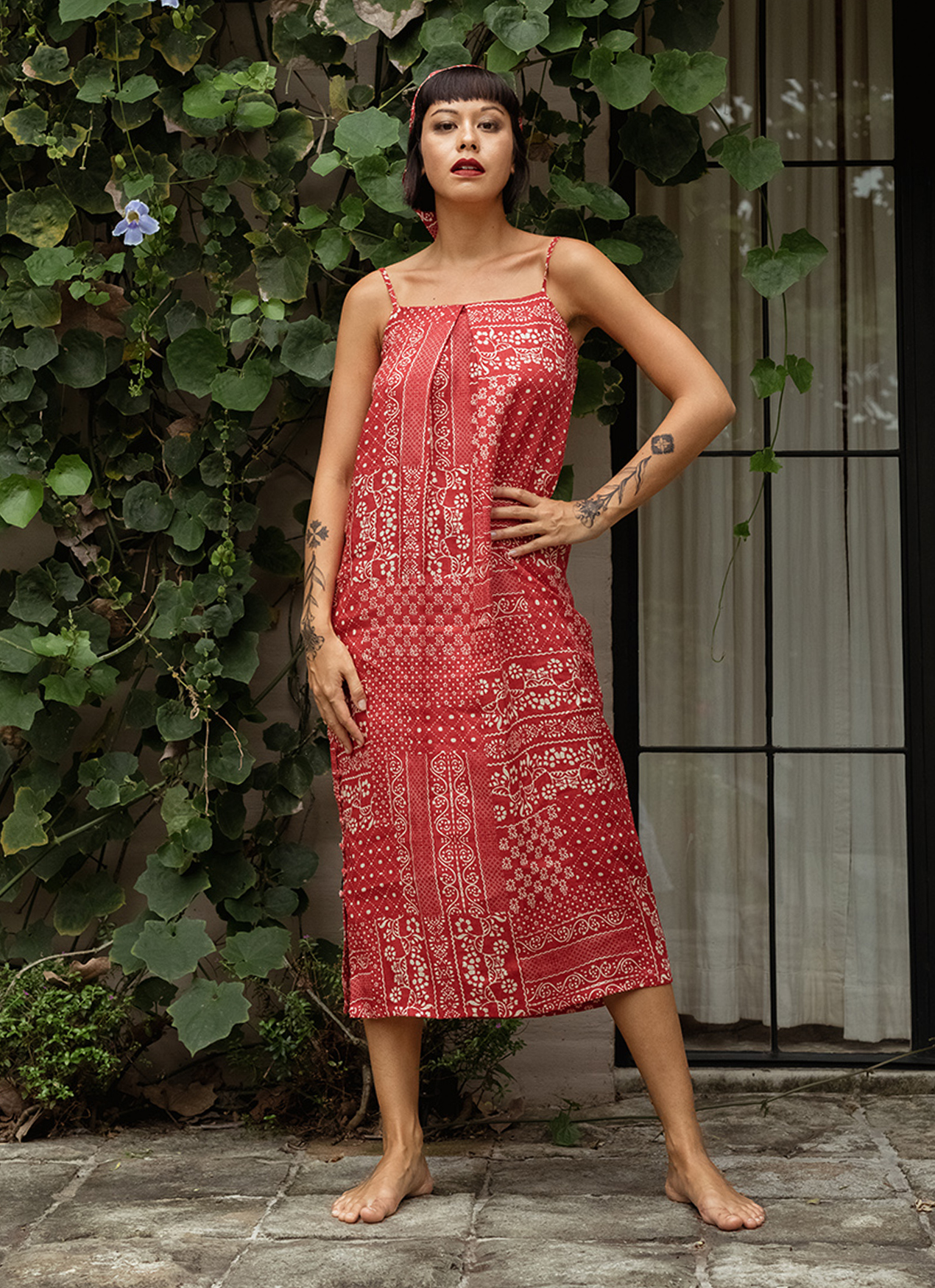 Eesome Sandy Dress Set Red