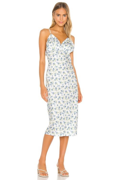 Song of Style Essie Midi Dress