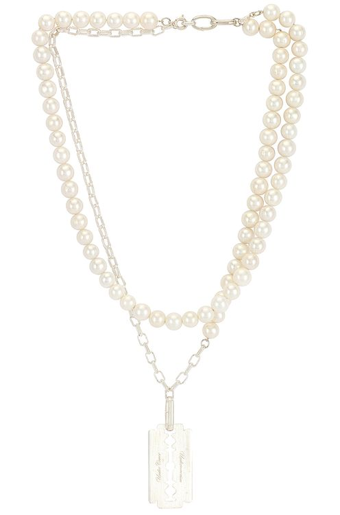UNDERCOVER Pearl Necklace