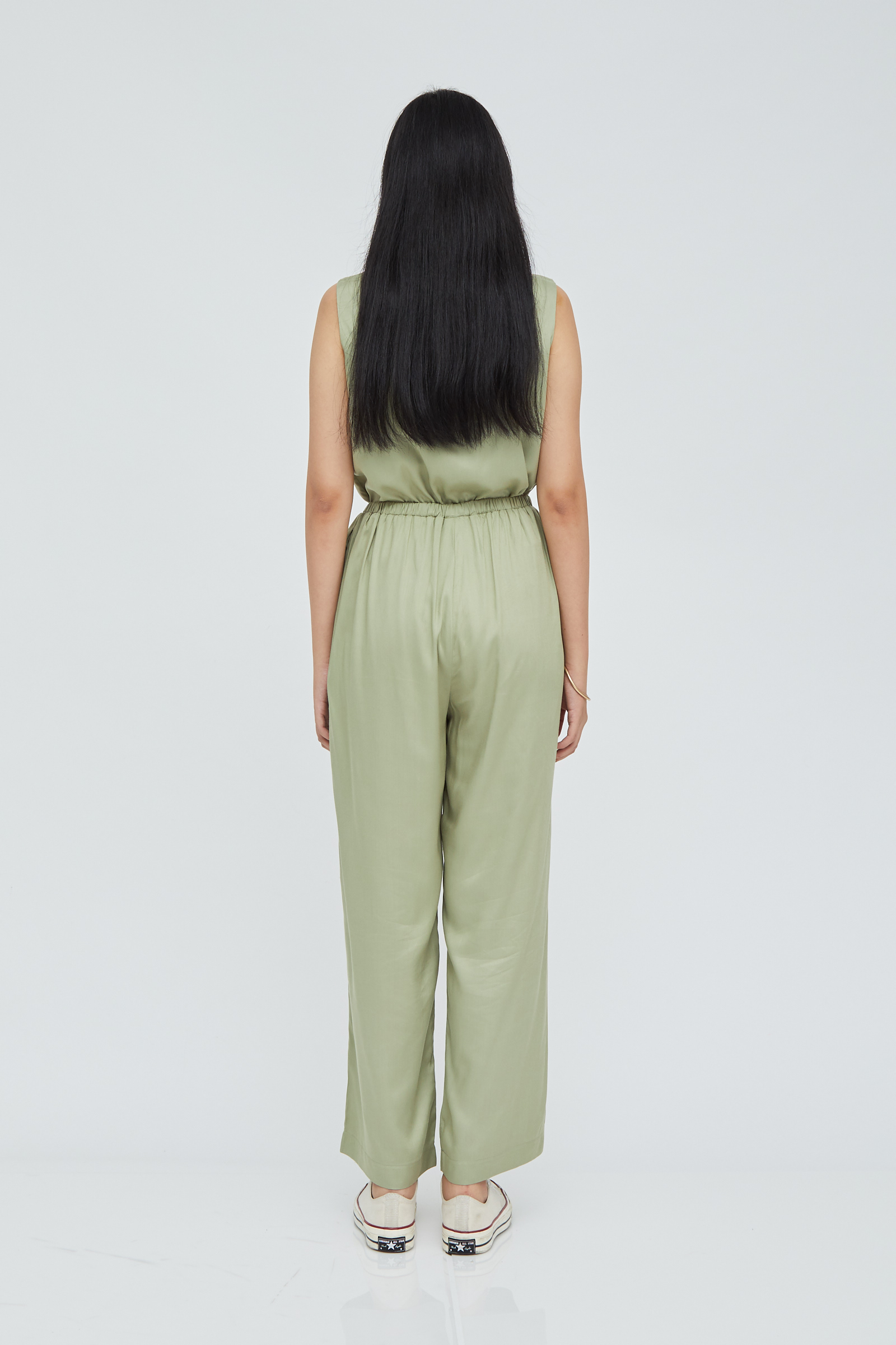 Shopatvelvet Boulevard Pants in Sage