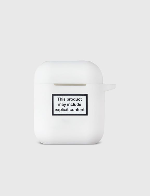 Urban Sophistication Explicit Content Warning AirPods Case