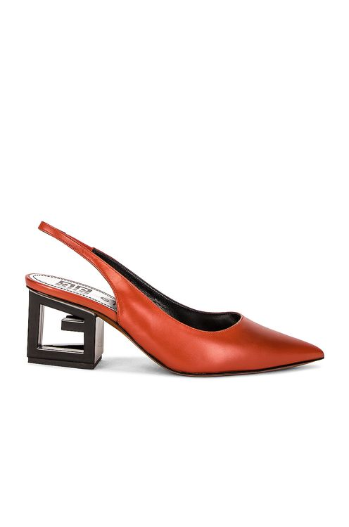 Givenchy Triangle Slingback Pumps