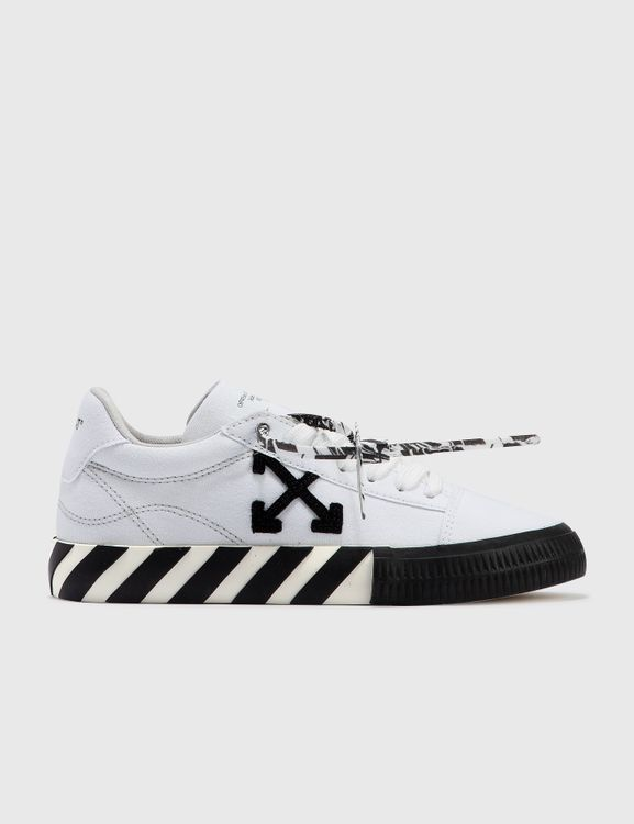 Off-White Low Vulcanized Canvas Sneaker