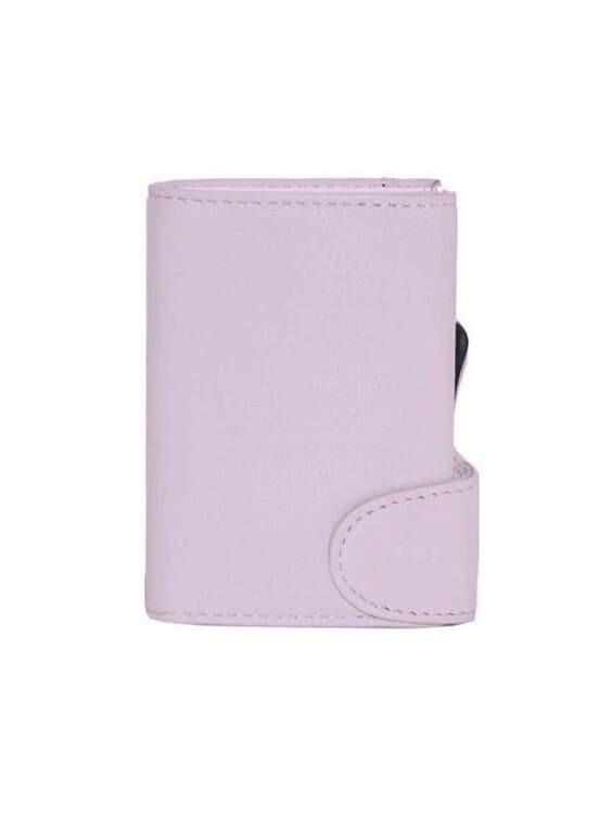 C-Secure C-Secure Italian Leather RFID Wallet Candy Pink