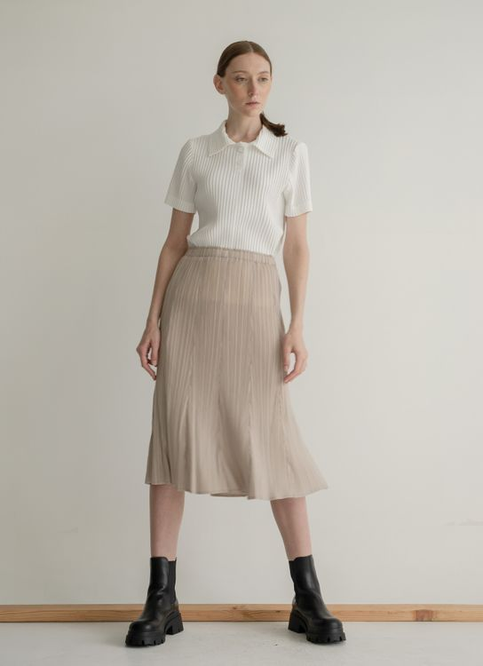 Orgeo Official Elena Skirt - Taupe