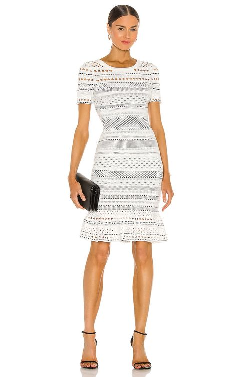 Milly Geo Cut Out Mermaid Dress