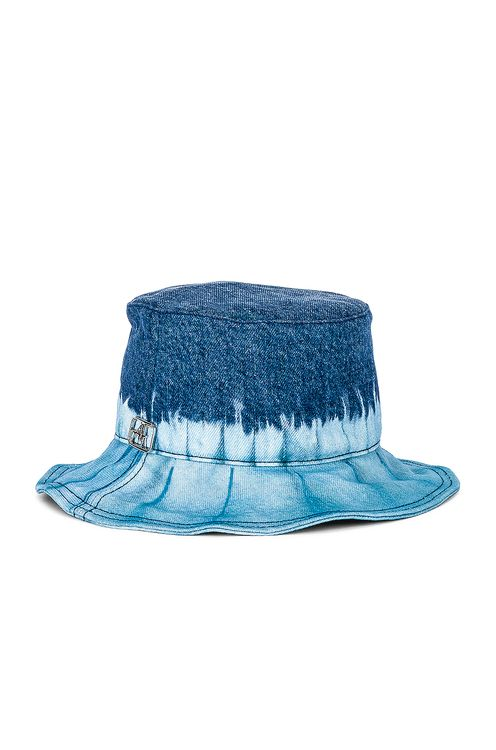 Alberta Ferretti Cotton Bucket Hat