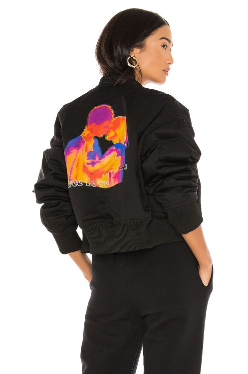 Local Heroes Free Love Bomber Jacket