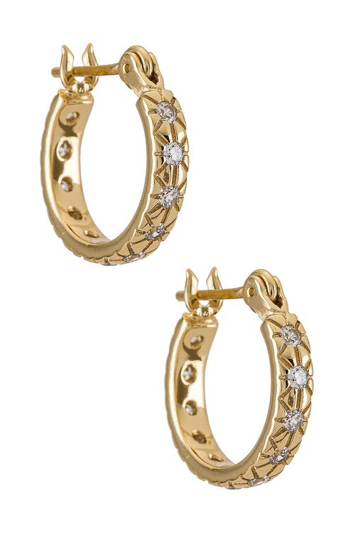 Five and Two Lisbeth Gold Plating Earring