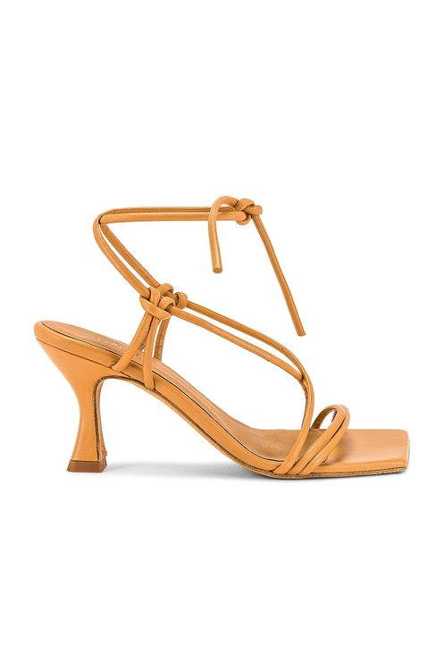 TORAL Honey Leather Sandals with Straps