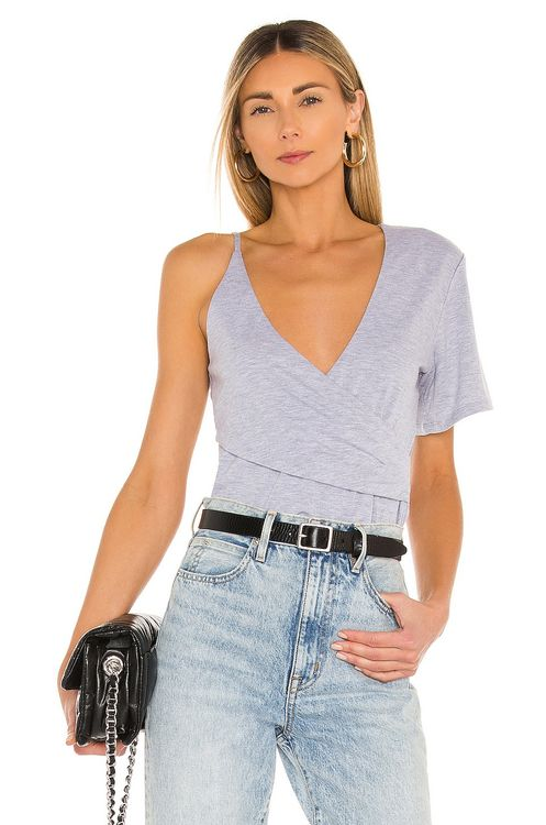 h:ours Korinne Wrap Tee