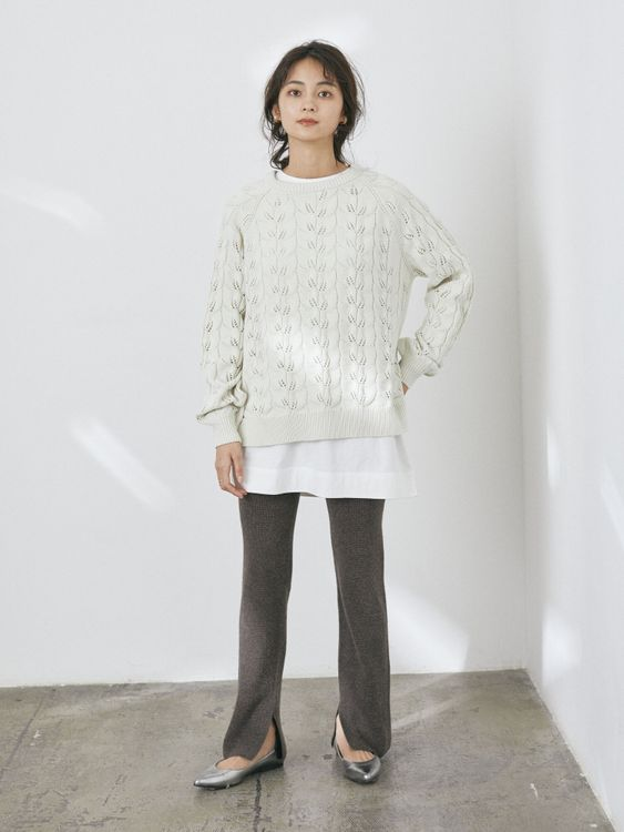 Craft Standard Boutique Micha Sweater - Ivory