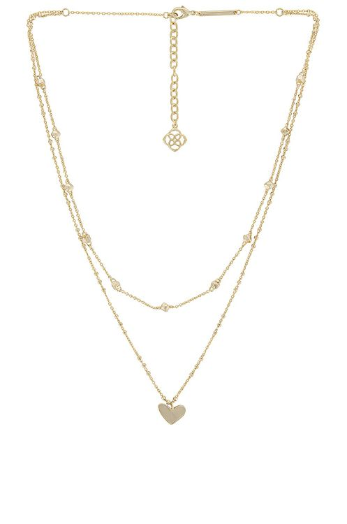 Kendra Scott Ari Heart Multi Strand Necklace