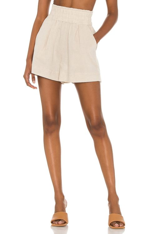 Suboo Cecile Linen Shorts