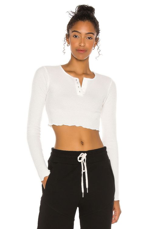 h:ours Marley Crop Top
