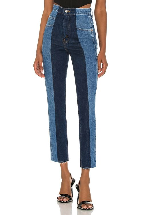 E.L.V. DENIM The Twin Straight Leg Jean