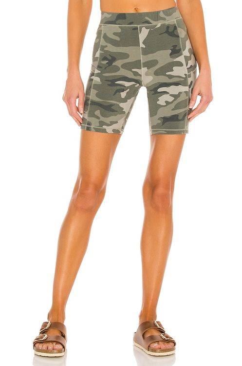 Monrow Urban Camo Bike Short