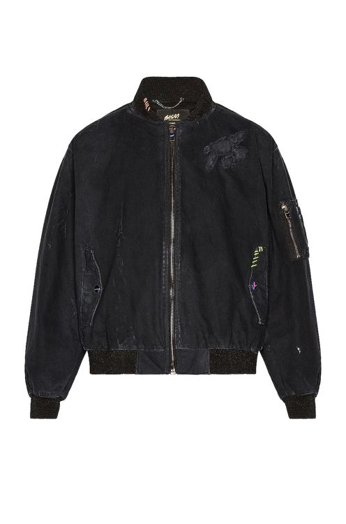 Bossi Canvas Bomber Jacket