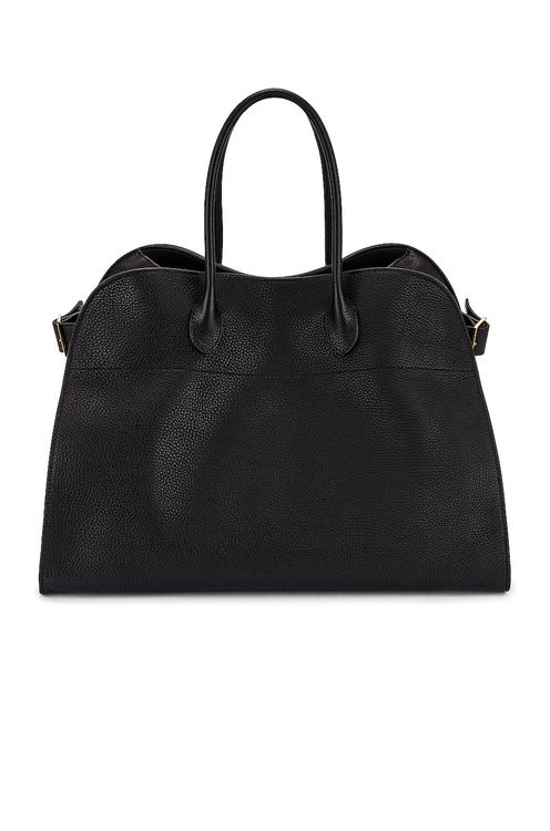 The Row Soft Margaux 17 Grain Leather Tote