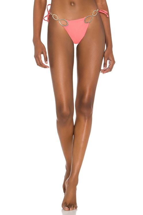 Beach Bunny Kinsley Tie Side Skimpy Bikini Bottom