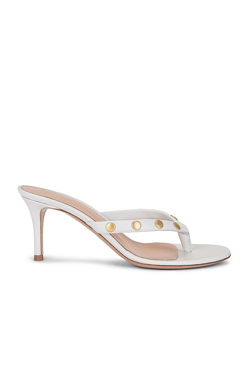 Gianvito Rossi Stud Thong Sandals