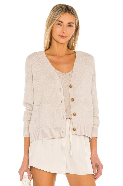 One Grey Day Olive Cardigan