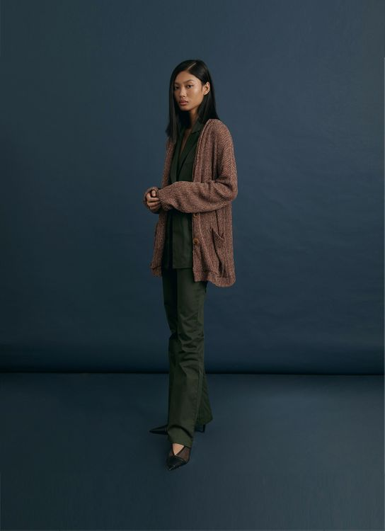 ATS THE LABEL Sunday Walnut Outerwear