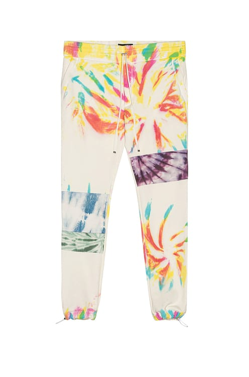 Amiri Tie Dye Art Patch Sweatpant