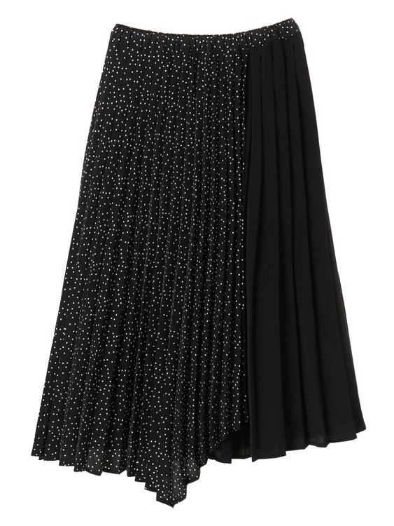 American Holic Mikki Pleated Skirt - Dot