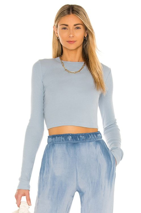 Cotton Citizen The Verona Crop LS Shirt