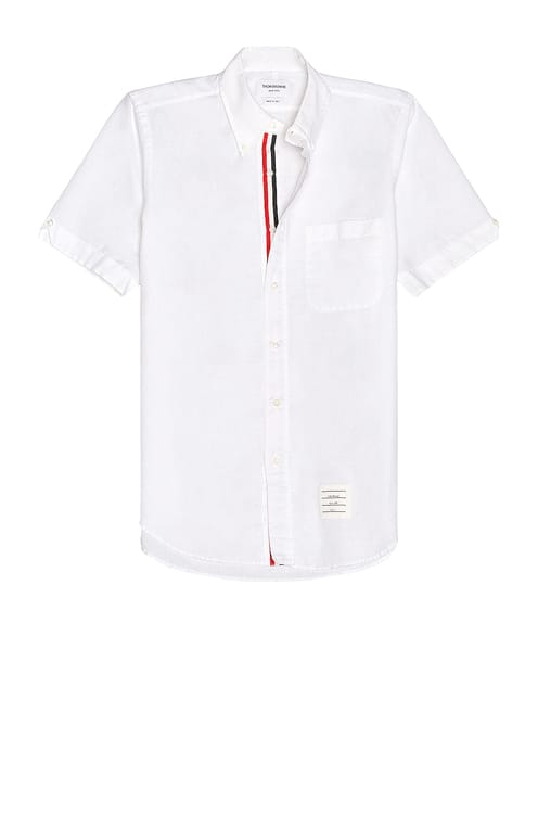 Thom Browne Straight Fit Shirt