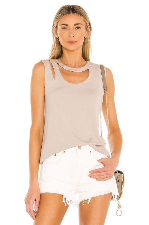 the hour Piper Cut Out Tank