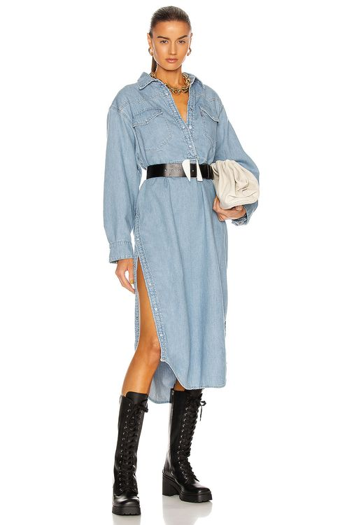 Ganni x Levi's Denim Dress
