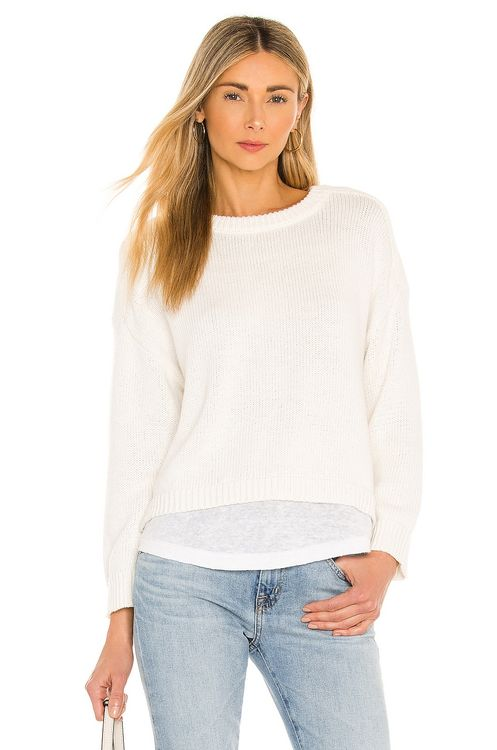 Brochu Walker Corbin Looker Layered Crew Sweater