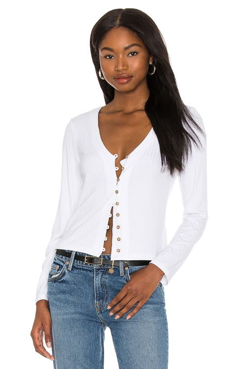 1. STATE Button Up Blouse