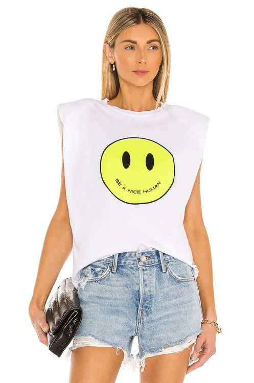 Le Superbe Just Be Nice Muscle Tee