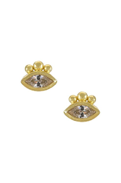 By Charlotte Trust Your Intuition Stud Earrings
