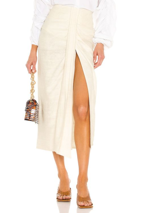 Piece of White Audrey Skirt