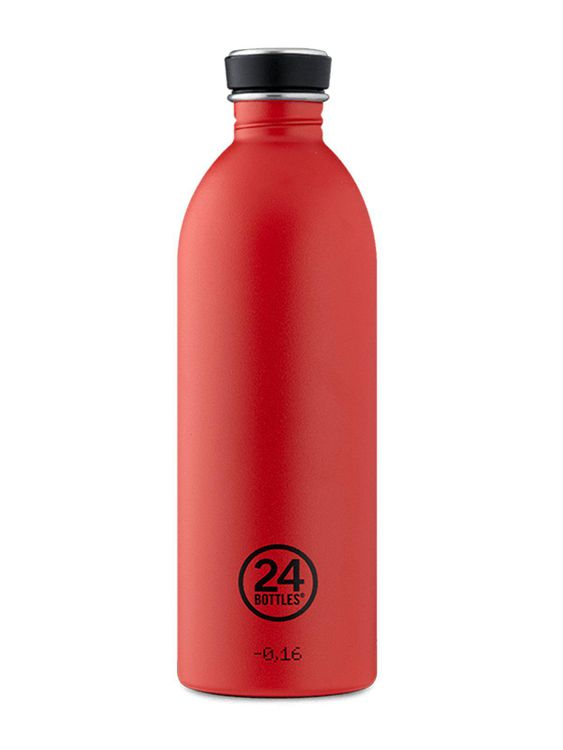 24Bottles 24Bottles Urban Bottle Hot Red 1000ml